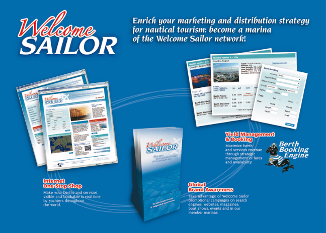 2008 - Welcome Sailor - International Marina Conference (Belgio)