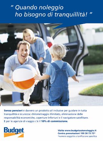 2012 - Budget - Pannello fiera TTG Rimini