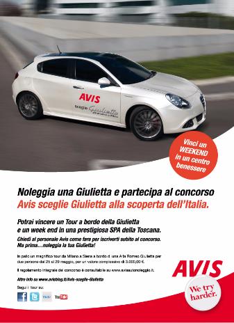 2011 - Avis - Evento 'Avis Sceglie Giulietta'
