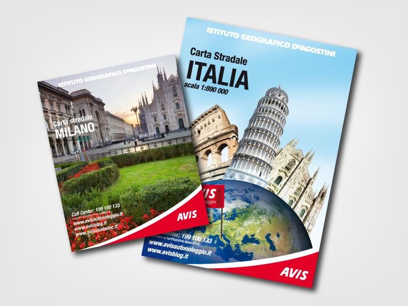 2012 e 2011 - Avis - Carte stradali