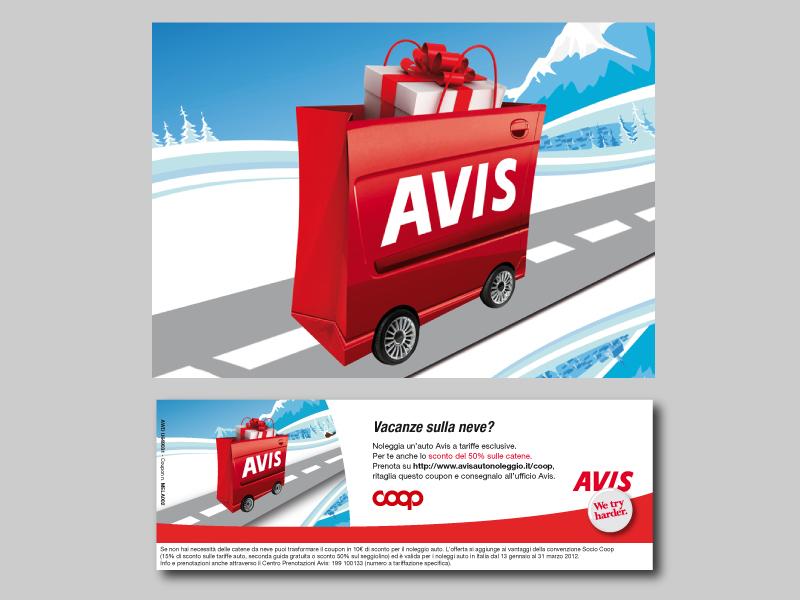 2011 - Avis/Coop - Coupon