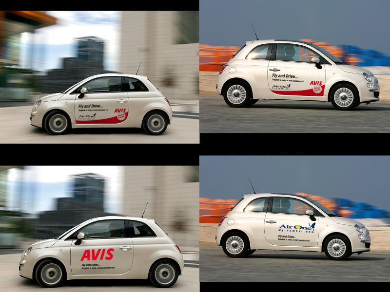 2011 - Avis/Air One - Car stickers