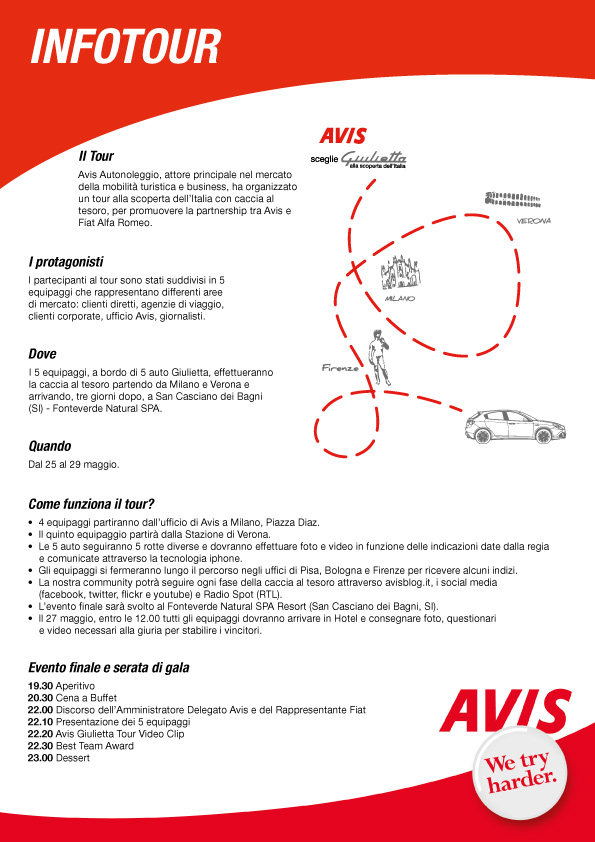 2011 - Avis - Infotour leaflet